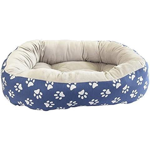 Cama para perro y gato HUELLAS BLANCAS W 75*60cm.