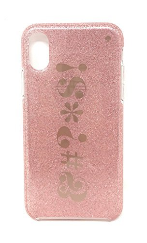 Kate Spade New York Signs iPhone X Case, Rose Gold Kate Spade Belle