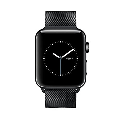 Apple MNQ12ZD/A Watch Series 2 (42mm, Milanese Armband) edelstahl