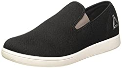 Reebok Mens Tread Smooth Black/Grey/Metsil/White Loafers and Moccasins - 7 UK/India (40.5 EU) (8 US)