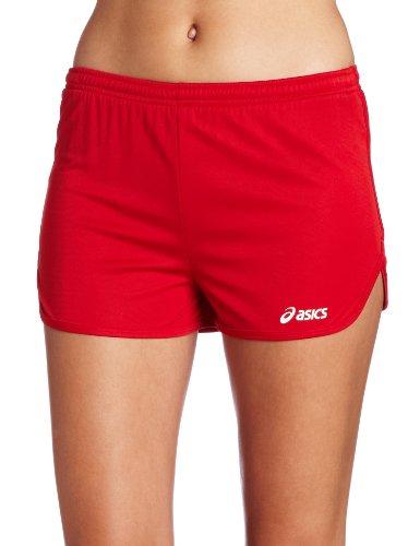 1/2 Split Shorts (ASICS Damen Propel 1/2 Split Short, Damen, rot, Small)