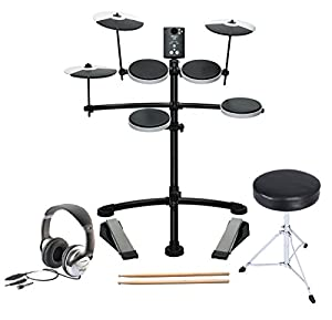 Roland TD-1K V-Compact Electronic Drum Kit TD1K Plus Accessory Pack
