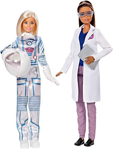 Barbie Bambole Astronauta e Ingegnere Aerospaziale, FCP65