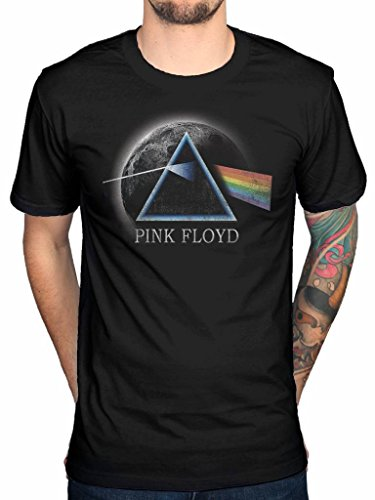 Official Pink Floyd Dark Side of the Moon T-Shirt, S to XL