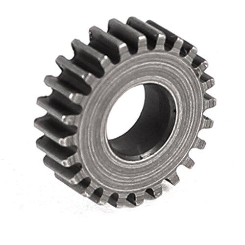M0.4x24T 24T 4 mm Durchmesser Wellenbohrung Geschwindigkeit reduzieren Getriebe Motor Spur Gear -