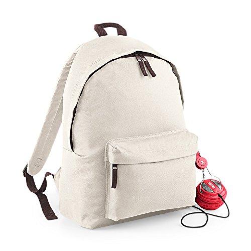 BagBase-Fashion-Backpack-Sand-Chocolate-42-x-31-x-21-cm