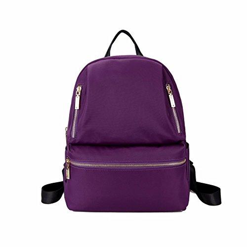 neue casual - rucksack aus oxford leinwand,violet violet