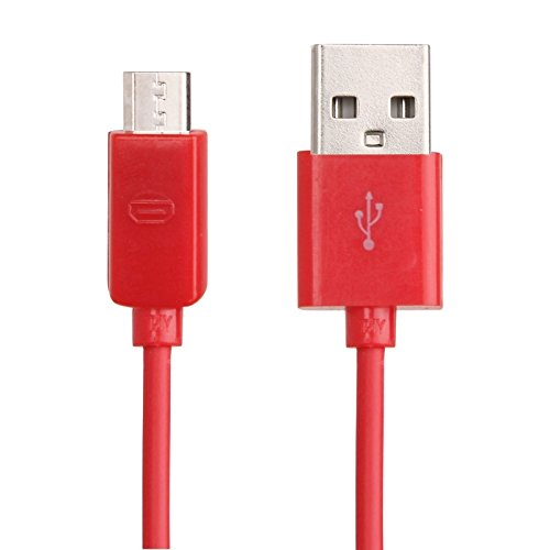 Zhuxin Micro USB Port USB Datenkabel für Nokia, Sony Ericsson, Samsung Galaxy S6 / S6 Edge / S6 Edge Plus/S IV, LG, Blackberry, HTC, Amazon Kindle, Länge: 1m