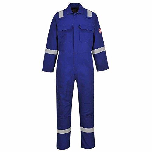 Portwest Bizweld Iona Work Overall Flammen resistent königsblau