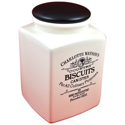 Charlotte Watson Square Large Biscuit Canister
