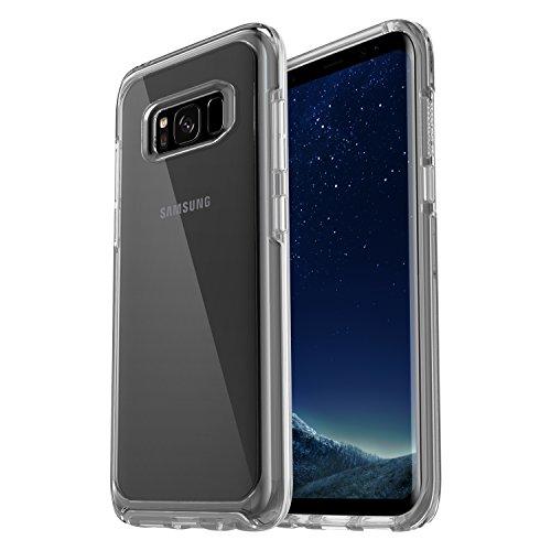OtterBox Symmetry Clear hoch-transparente sturzsichere Schutzhülle für Samsung Galaxy S8,  Clear Crystal