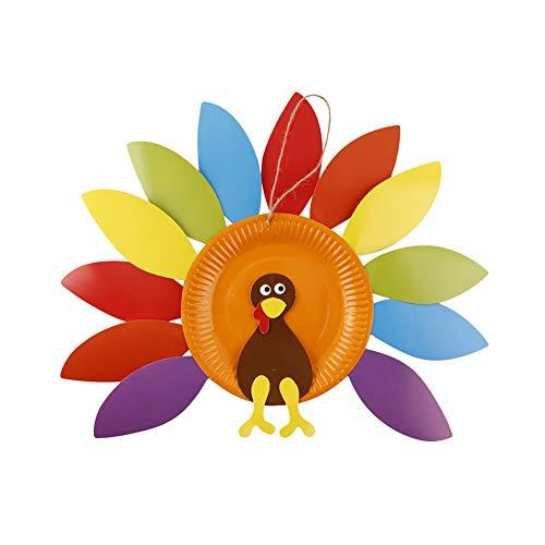 Naisicatar Handbuch DIY Thanksgiving-Partei der Türkei Bastelset Türkei Anhänger Türkei Bastelset für Kinder und Dekoration Kunsthandwerk (Art 2) Interessantes Spielzeug (Thanksgiving-kunsthandwerk Kinder Für)