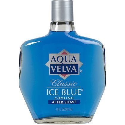 Aqua Velva Classic Ice Blue Cooling After Shave-7 oz by