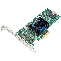 Adaptec 6405H Interno SAS,SATA tarjeta y adaptador de interfaz - Accesorio (PCIe, SAS,SATA, 1 x SFF-8087, Verde, Gris, 6 Gbit/s, PMC PM8001)