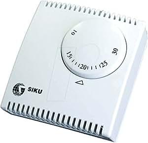 SIKU 27162 thermostat mécanique sans interrupteur et le tEG 130–blanc