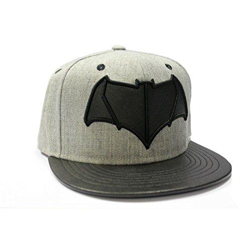 Batman v Superman Logo Snapback Cap grey-black