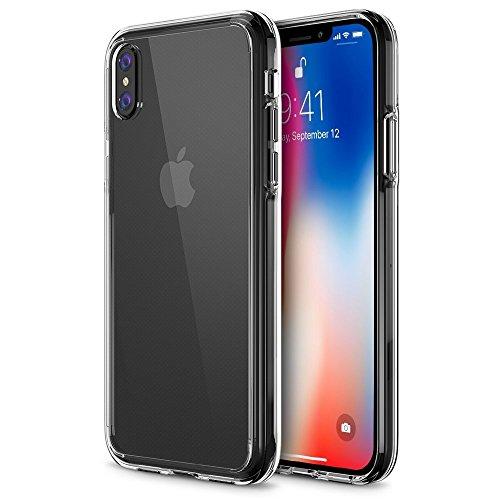 iVoler Funda Carcasa Gel Transparente para iPhone XS/iPhone X/iPhone 10 5.8...