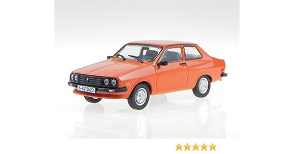 Dacia 1410 Sport Rot Ddr Ostalgie Model Car Display Case 1 43 Spielzeug