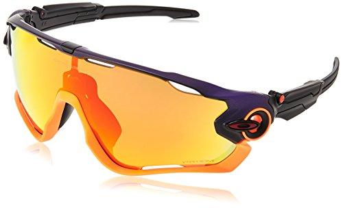 Oakley Herren Jawbreaker 929030 31 Sonnenbrille, Violett (Purple Pop Fade/Prizmruby),