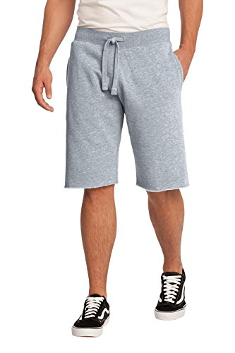 District® - Young Mens Core Fleece Short. DT195 Athletic Heather M (Shorts Fleece Athletic)