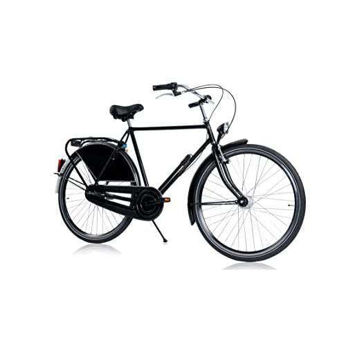 41wM4Lu0E9L. SS500  - HOLLANDER, classic Dutch bike, black, 3 speed Shimano, frame size 57cm