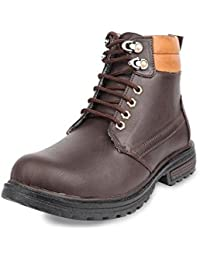 XGL Dash Men's Brown Synthetic Boots 10 UK