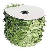 joyliveCY Künstliche Blumen-Grün-Blatt-Dekoration für Hauptwand-Garten-Hochzeitsfest-Kränze