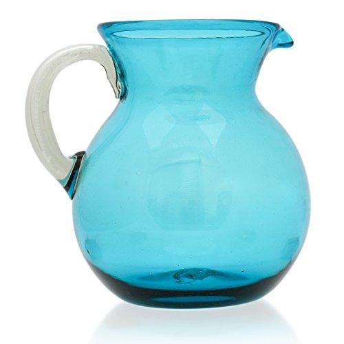 Jarra Grande (2 litros), soplado artesanal a partir de vidrio reciclado en...