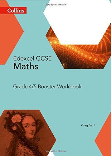 GCSE Maths Edexcel Grade 4/5 Booster Workbook (Collins GCSE Maths)