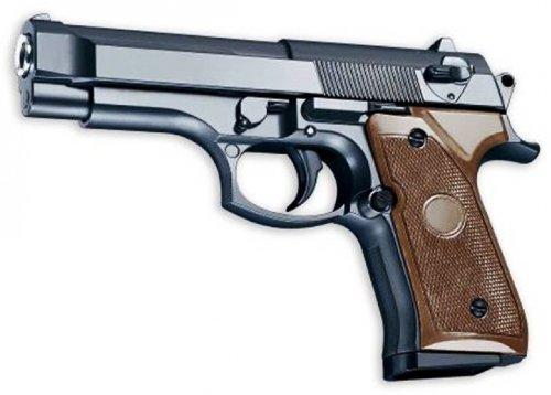 VOLLMETALL Softair Sport Pistole Schwer! G-22 zu Nerd Clear