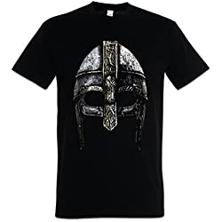 Viking Helmet T-Shirt - Hugin and Munin Odhins Ravens Boat Dragon Ship Vikingo Drakkar Barco Largo Tamaños S - 5XL