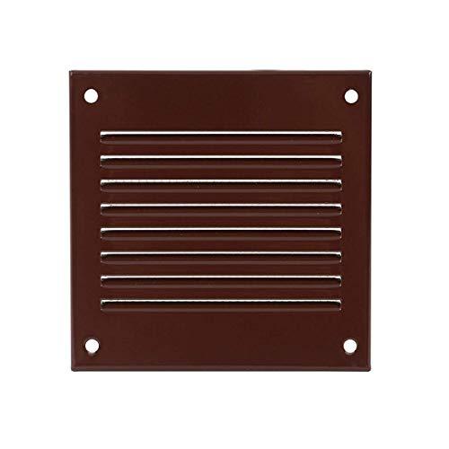 100 x 100 mm – Rejilla de ventilación – Marrón Metal –...