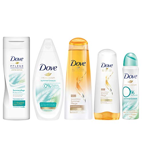 Dove Limited Edition Sommerpflege-Set mit Body Lotion