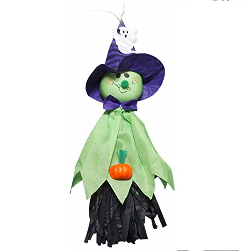 gend, Halloween Hängender, Halloween Deko, halloween hanging dekorationen, Moon mood® Halloween Dekoration Halloween hängende Dekoration Terror Angst Haunted House Toy Haushalt Bar Open Air Party im Freien (The Haunted-maske Halloween-maske)