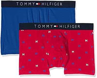 Tommy Hilfiger Men's Icon Trunk 2 Pack H Boxer Shorts