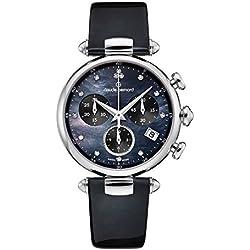 Claude Bernard de mujer reloj de pulsera Dress Código Cronógrafo Fecha Cuarzo 102153nandn