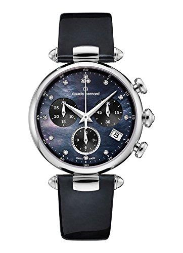 Claude Bernard Women's Quartz Watch with Date Dress Code Chronograph Quartz 102153Nandn