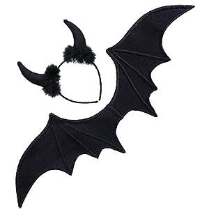 WIDMANN Disfraz 8236S Juego Negro Teufel, One size
