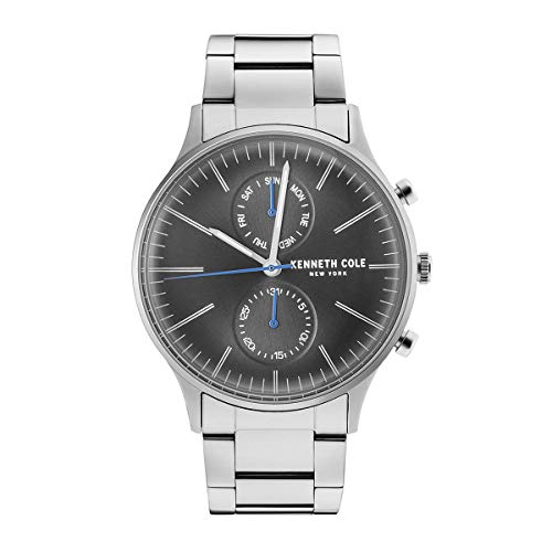 Kenneth Cole New York Reloj de Hombre Reloj de Pulsera Acero Inoxidable kc50585003