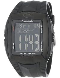 Freestyle - FS81285 - Shark Buzz - Montre Homme - Quartz Digital - Cadran Noir - Bracelet Caoutchouc Noir