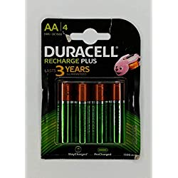 Duracell Recharge Piles Rechargeables type AA 1300 Mah , 4 piece