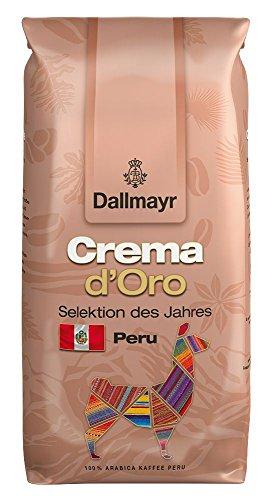 Dallmayr Kaffee Crema d´Oro Selektion des Jahres 1000g Kaffeebohnen, 1er Pack (1 x 1000 g)