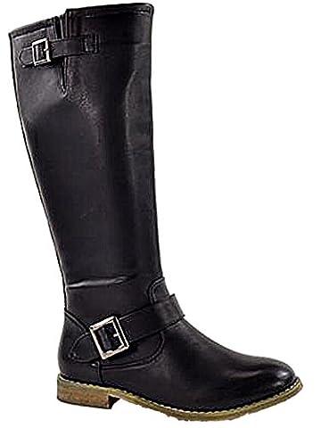 Foster Footwear , Bottes d'équitation fille femme, Noir, 0