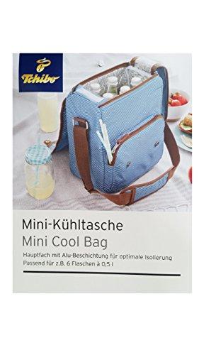 TCM Tchibo Kühltasche zum Umhängen Picknick Ausflug (Schultergurt Gehören)