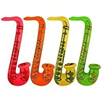 Henbrandt Party Inflatable Saxophone (75cm) - 1 per pack