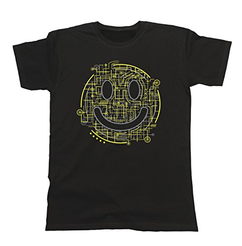 electric-smile-hipster-technology-electronic-mens-t-shirt