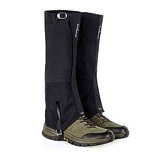 Unigear Outdoor Gamaschen, 100% wasserdichte Gamaschen, Verschleißfeste Beinschutz Gaiter für Outdoor-Hosen zum Wandern…