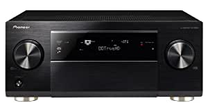 Pioneer SC 2023 K 7.2 Multi-Channel Receiver (Direct Energy HD Power Amplifier, Apple AirPlay, Navigation via App, HTC Connect, MHL, vTuner Webradio, Gappless Playback, 4 zones, 3D, 4 K Ultra HD Video Scaler HDMI CEC, - Black