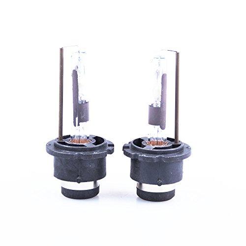 Segolike Pair D2R 12V 35W 4300K Light White Auto Car Xenon HID Headlight Lamp Bulbs  available at amazon for Rs.860
