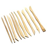 #10: Kraftmasters Set of 10 Clay Tools with Double Sided Crafting Sculpting Modelling Pottery Ends